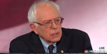 Sanders Takes Andrea Mitchell To Task For Question On Bill Clinton