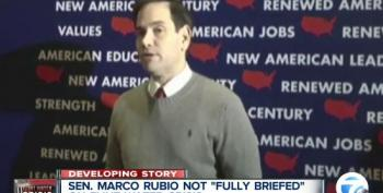 Rubio Clueless About Flint's Water Crisis