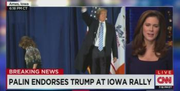 CNN Weirdly Praises Sarah Palin's Endorsement Speech Of Trump