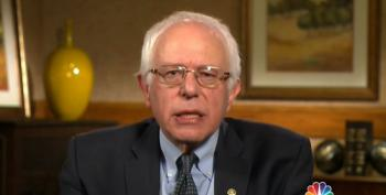 Sanders On Bloomberg Run: Americans Don't Want To See Us Move Toward An Oligarchy
