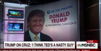 Donald Trump On Ted Cruz  'He's A Liar' And 'Looks Like A Jerk.'