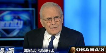 Hannity Teams Up With Rumsfeld To Blame Obama For Problems In Iraq