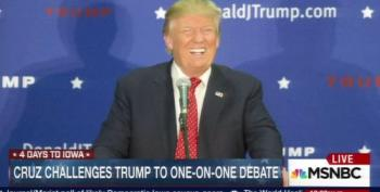 Is Trump's Anti-Debate 'Event' Raising Money For A Bogus Charity? (Updated)