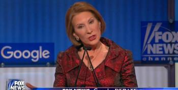 Fiorina Takes More Cheap Shots At The Clintons' Marriage