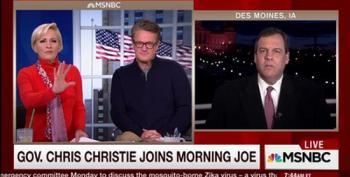 Chris Christie: 'I Feel Like I'm Gonna Start Pounding The Meat'