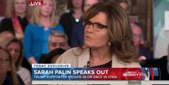 Sarah Palin Rages At NBC For Daring To Ask About Track's PTSD