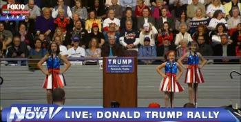 Donald Dancers Set To Trent Reznor