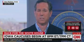 Rick Santorum: How Can Ted Cruz Run On A Platform Of 'Everybody Hates Me'