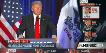 Donald Trump Only Has Himself To Blame For Iowa Loss