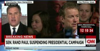 Rand Paul Suspending Presidential Bid
