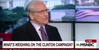 Woodward Complains About Clinton's 'Tone'