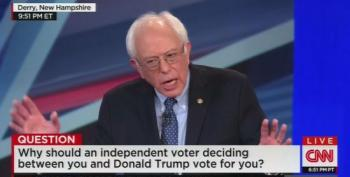 Sanders: I Want Trump To Run So I Can Win -- Which I Will By A Lot