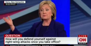 Clinton: Right-Wing Conspiracy Alive And Well And Better Funded