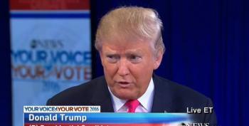 Trump Hits Back At Bush On Eminent Domain