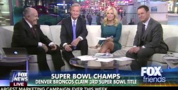 Fox News Trots Out Rudy Giuliani To Slam Beyonce's Super Bowl Performance