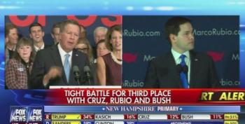 Fox News Cuts Away From Kasich In Mid Sentence