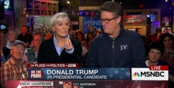Trump To Mika And Joe:  'You're Supporters'