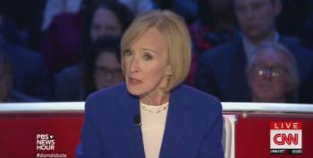 Judy Woodruff Compares The Koch Brothers To George Soros