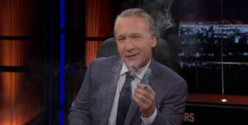 Bill Maher Smokes A Joint On TV