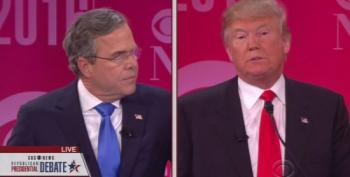 Trump Tells Jeb That His Mother Should Run For President!