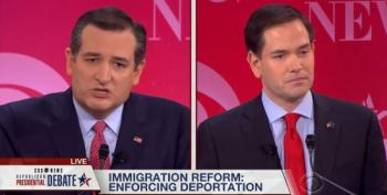 Cruz And Rubiot Tangle Over Immigration