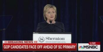 Hillary Clinton Bashes GOP Senators For Planning To Block Obama's Supreme Court Nomination