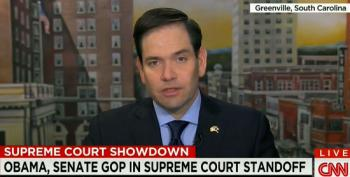 Rubio Says He'll Reserve Judgment Prior To Senate Blocking Any Obama Nominee