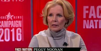 Peggy Noonan Compares Donald Trump To Code Pink