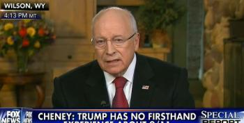 Dick Cheney: Donald Trump Sounds Like A Liberal Democrat