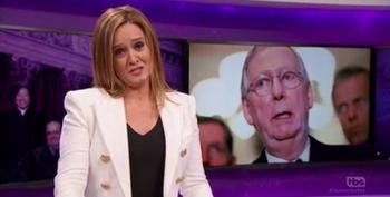 Samantha Bee Breaks Down The Dildo Politics Of Replacing Scalia