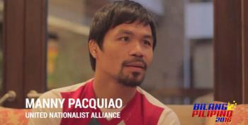 Nike Drops Manny Pacquiao For Saying Gays Are 'Worse Than Animals'