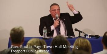 Paul LePage Of Maine Heckled At Town Hall, Called 'Asylum Seekers Are Our Biggest Problem'