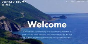 If Trump Wins This Canadian Island Welcomes Americans To Move There