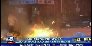 Fox News Runs Riot Video Footage To Portray Black Lives Matters' Meeting With Obama