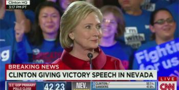 Clinton Nevada Victory Speech: 'What We Can Do Together, Not What I Can Do Alone'