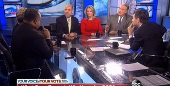 ABC Roundtable In Denial: Refuse To Say Inmates In Charge At GOP Asylum