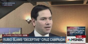 Marco Rubio Blasts Ted Cruz For Repeatedly Being A Deceptive And Lying Campaign