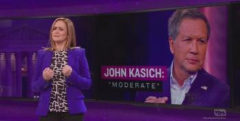 Samantha Bee Destroys John Kasich's 'Moderate' Label