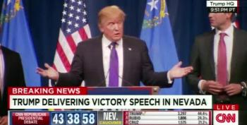 Donald Trump's Nevada Victory Speech