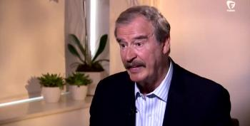 Former Mexican President Vicente Fox: We're Not Paying For Donald Trump's Fucking Wall