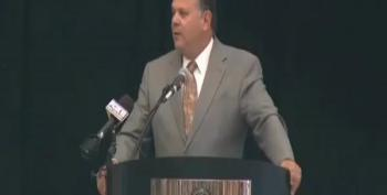 GOP Sheriff Normand Calls Bobby Jindal A 'Cult Leader' During Speech