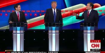 The GOP Debate, In 30 Seconds