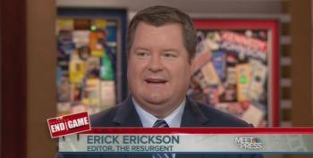 MTP Invites On Hateful Erick Erickson After Planned Parenthood 'Mengele' Article
