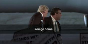 Trump Tells Christie To 'Go Home'