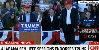 Sen. Jeff Sessions Endorses Donald Trump