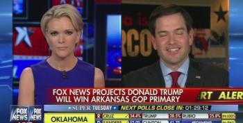 Megyn Kelly Tries To Break Marco Rubio's Super Tuesday Denial