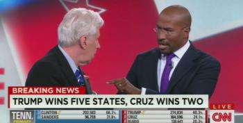 Van Jones And Jeffrey Lord Nearly End Up In A Fist Fight Over Trump's KKK Connections