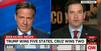Jake Tapper Asks Rubio: 'Are You In Denial?'