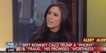 Andrea Tantaros Tells Mitt Romney To Shove It