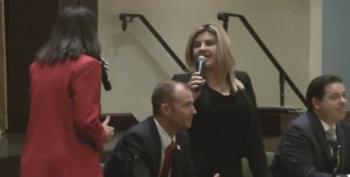 Michele Fiore Challenges Opponent To A Fight During Debate